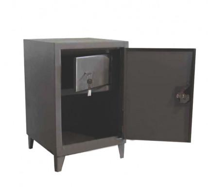 Односекционный шкаф для документов с внутренним отделением