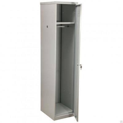 Шкаф металлический для одежды односекционный