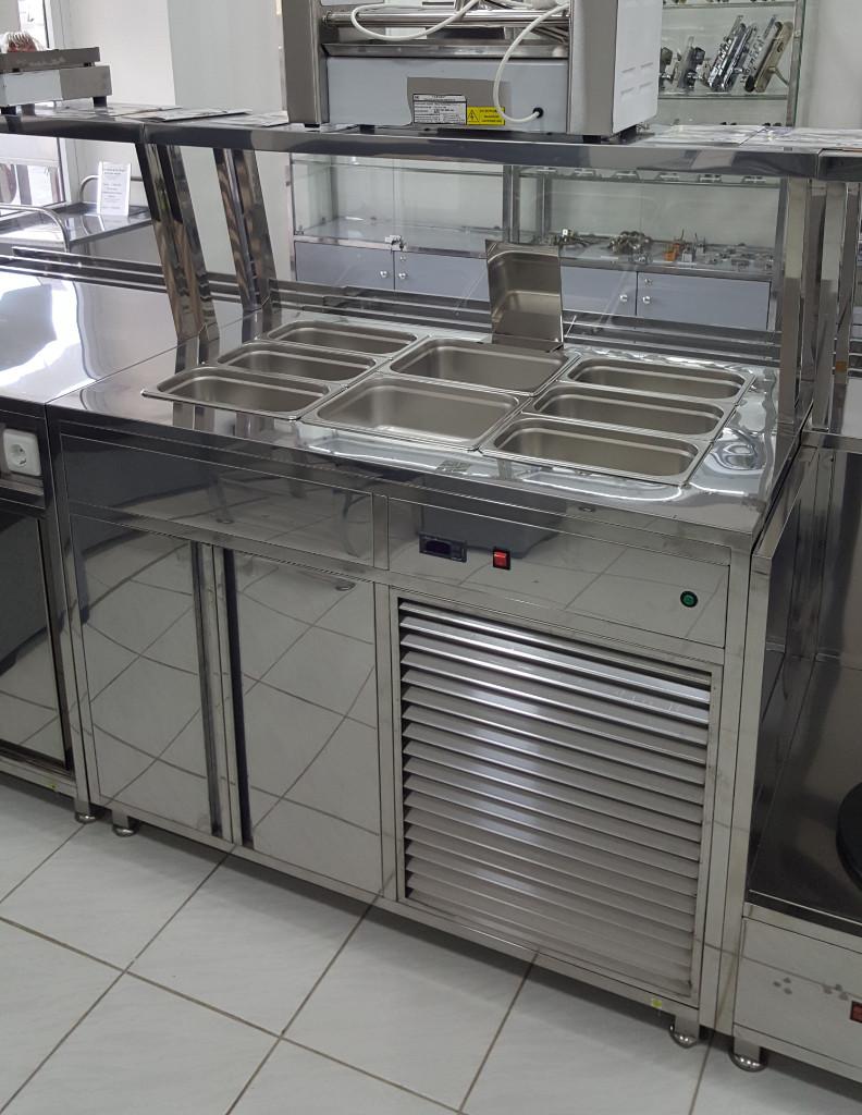 Мармит стол холодильный трехрядный-3