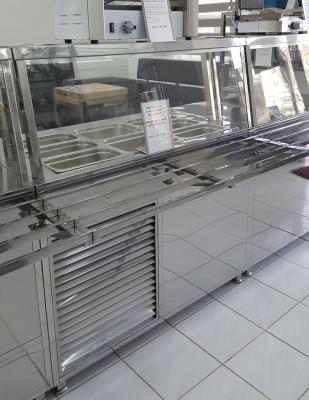 Мармит стол холодильный трехрядный