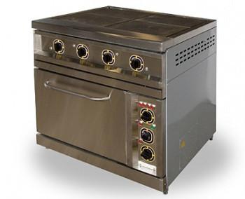 Плита электрическая ПЭЖШ-4 с жарочным шкафом
