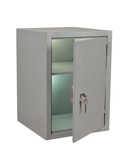 Односекционный шкаф для документов со встроенным замком