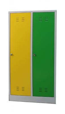 Шкаф металлический для одежды детский