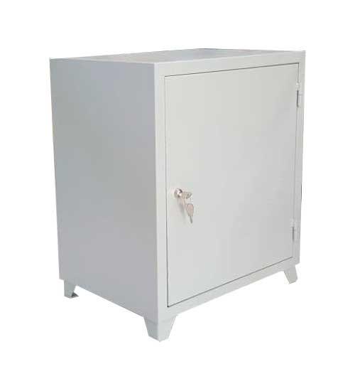 Односекционный металлический шкаф для документов с внутренним отделением