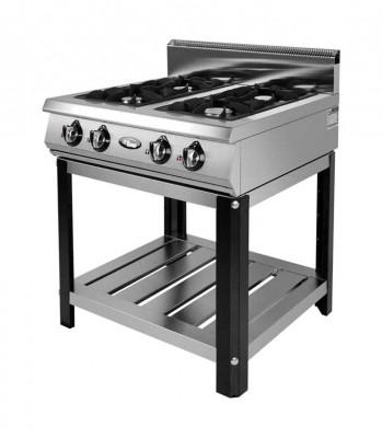 Плита газовая Grill Master Ф4ПГ/800 на подставке
